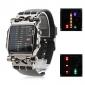 Men's PU Digital LED Wrist Watch (Black) Cool Watch Unique Watch