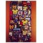 Etui Rigide Motif Dessin Animé pour iPhone 4/4S - Multicolore