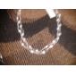 Lureme®Waving Pattern Pearl Necklace