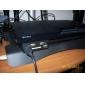 4-Port USB-Hub mit SD-Speicherkartenleser für PS3 Slim (schwarz)