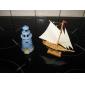 Wooden Sailing Boat Decoration