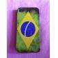 Case Dura para iPhone 4 e 4S - Bandeira do Brasil