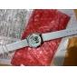 Relógio de Mulher em Pele (Branco)