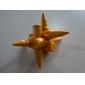 Educational Wood Bullet Interlock Toy - Golden