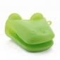 hipopótamo em forma de silicone luva de forno luva isolado (cor aleatória)