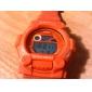 Mulheres Relógio Casual Relogio digital Digital LCD Impermeável Multifunções Silicone Banda Legal