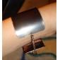 bracelet en métal texturé