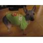 개를위한 순록 패턴면 애완 동물 t-셔츠 (XS-L)