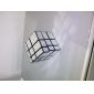 은색 불규칙 3x3x3 뇌 티저 마법 IQ 큐브