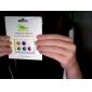 adesivo casa botão para iPhone, iPad e iPod (6 pack, listras)
