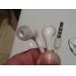 Auriculares de Oído Interno Estéreo para el iPhone en Blanco