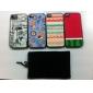 아이폰을위한 트렌디 한 셀 벨벳 가방 (블랙)