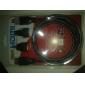 HDMI 1.4 Cabo adaptador, HDMI 1.4 to HDMI 1.4 Mini HDMI Micro HDMI Cabo adaptador Macho-Macho 1,5M (5 pés)