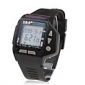 Waterproof Digital Multifunction Watch with Calendar, Alarm, Chronograph (Black)
