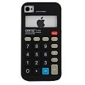 Calculator Pattern Silicone Case for iPhone 4 and 4S (Assorted Colors)
