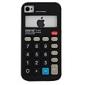 아이폰 4와 4S (여러 색)에 대한 계산기 패턴의 실리콘 케이스