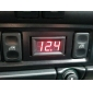 4.0-30V Digital RED Mina LED Auto Car Truck Voltmeter
