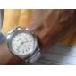 люди бизнеса 8099 сплава аналоговые кварцевые наручные часы (серебро)