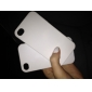 Ultra Thin Rubber Matte Hard Case Cover for iPhone 4 and 4S (White)