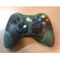 X 박스 360 컨트롤러 (검은 색과 녹색)에 대한 보호 듀얼 컬러 실리콘 케이스