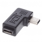 Micro USB Female to Mini USB Male Adapter for Samsung Galaxy S3 I9100 and Others
