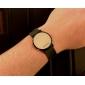 Пара спортивный стиль красного часы привело желе запястье - черный и белый