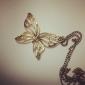 Jóias Colares com Pendentes / Colares Vintage Diário Liga Feminino Bronze Presentes de casamento