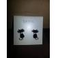 lureme®mysterious маленькие черные кошки уха шпильки