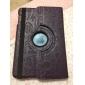 Cartoon PU Leather Case w/ Rotating and Stand for iPad mini 3, iPad mini 2, iPad mini (Assorted Colors)