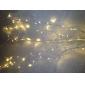 문자열 조명 ac220 10m 100 led 따뜻한 흰색 높은 품질 led 빛