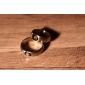 eruner®titanium стали классикой четыре листа клевера шаблон кольцо