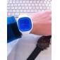 젤리 실리콘밴드 쿼츠 손목시계(화이트)