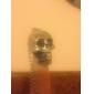 eruner®titanium стальной черный череп головы стиль ожерелье