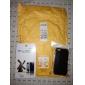 Protetor de Tela Frente e Trás Mate com Pano de Limpeza para iPhone 5