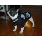 Chien Tee-shirt Vêtements pour Chien Mode Halloween Crânes Noir Costume Pour les animaux domestiques