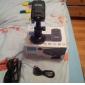 Câmera de Vídeo Automotiva HD Estável com Visão Noturna e Tela LCD de 2.0 Pol.
