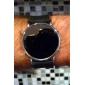 тонкие современных женщин мужчинами моды стиль унисекс привело наручные часы - черный