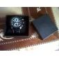 pu banda relógio de pulso de quartzo para homens