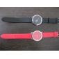 Женские Модные часы Японский кварц Кварцевый PU Группа Черный Белый Красный Коричневый