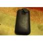 cas léger de protection de surface PU cuir de poche pour l'iphone 5/5s
