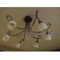 Светодиодная лампа-кукуруза G9 7 Вт 36x5050 SMD  700-750 лм 2700-3200 K теплый белый свет (85-265 В)
