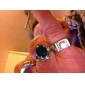 Thick Section Dazzling Diamond Ring