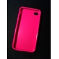 Protective Plastic Case for iPhone4 (Peach)