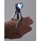porte-clés lampe de poche LED avec trépied (noir)