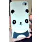 Lovely Panda Pattern Hard Case for iPhone 4 and 4S (White)