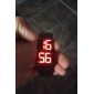 Men's Watch Lava Style Red LED Digital Calendar Wrist Watch Cool Watch Unique Watch