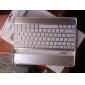 Беспроводная Bluetooth клавиатура для iPad с каблем подзарядки USB, белая