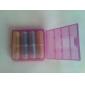 ААА до АА батареи набор случае преобразователь (4 шт)