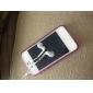 Case Pára-Choques Brilha no Escuro para iPhone 4 - Púrpura