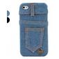 카우보이 바지 아이폰 4와 4S (여러 색)에 대한 하드 케이스를 디자인